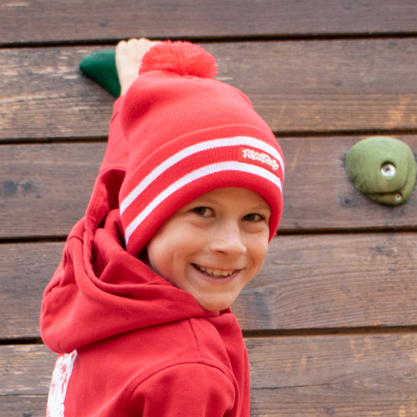 Children's bobble-stitch hat