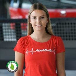 T-shirt da donna battito cardiaco