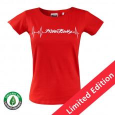 Damen T-Shirt Herzschlag