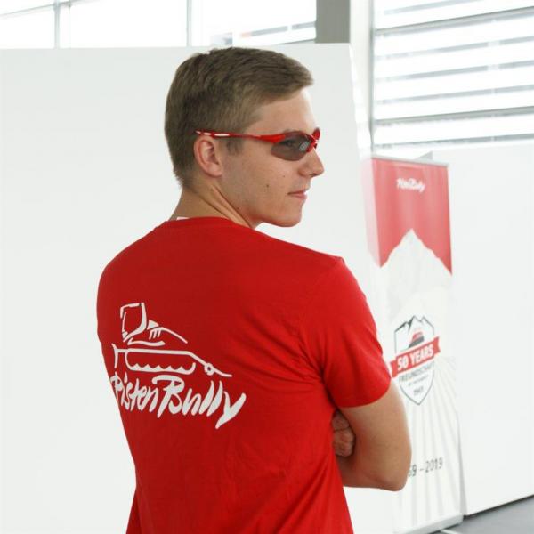 Rotes Herren T-Shirt