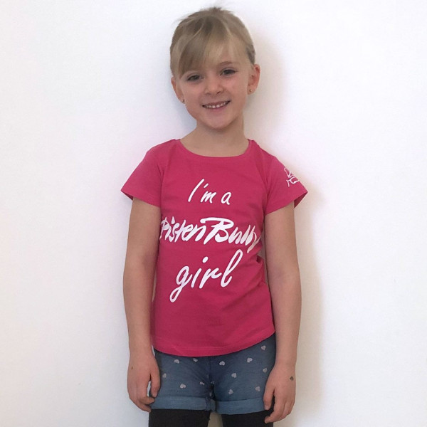 Children's T-shirt I am a PistenBully Girl