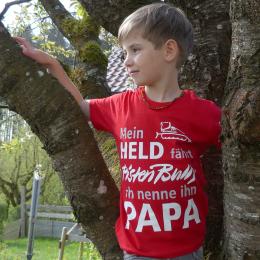 Kinder T-Shirt Mein Held