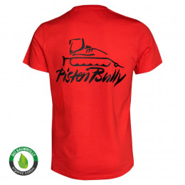 Herren T-Shirt Basic rot
