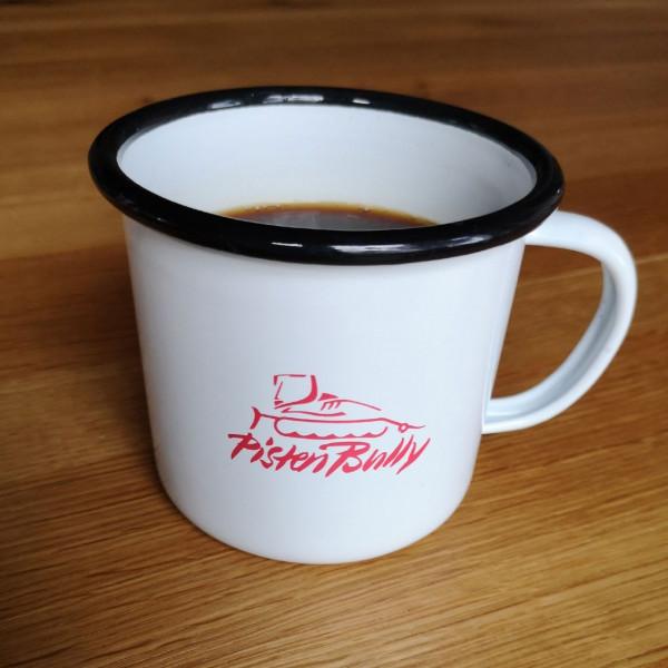 Enameled mug