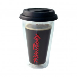 Insulated glass mug