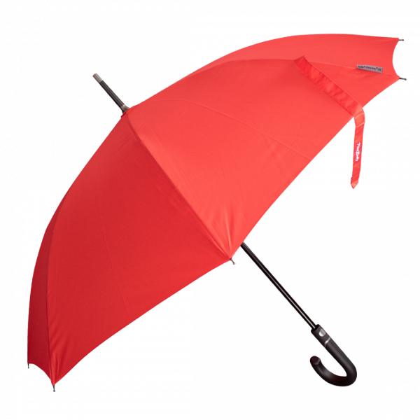 Red stick umbrella