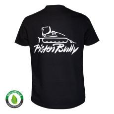 T-shirt Basic da uomo nera